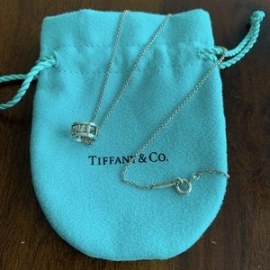 Tiffany & Co Atlas Open Pendant